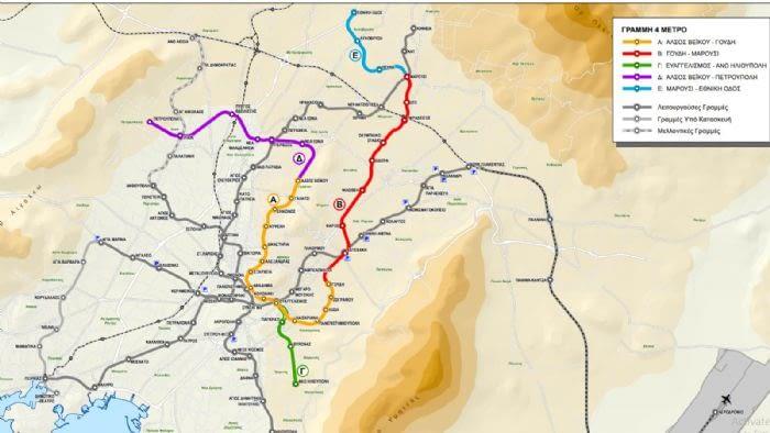 Επέκταση του Μετρό στα Βόρεια Προάστια – Ποιοι θα είναι οι 11 σταθμοί