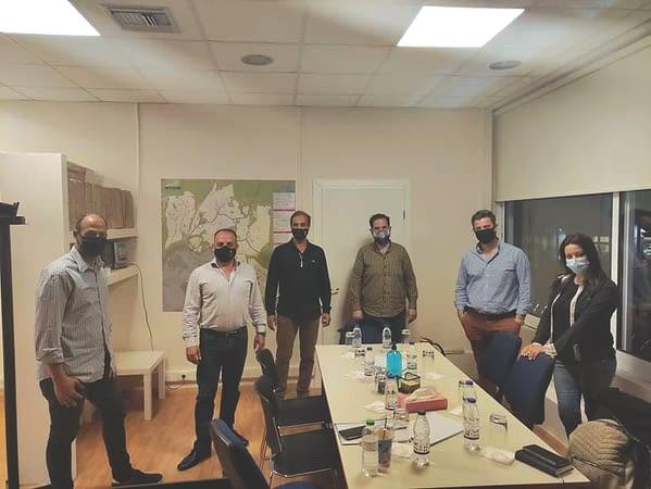 Συνάντηση του Aντιδημάρχου Τοπικής Επιχειρηματικότητας με τον Eμπορικό Σύλλογο Διονύσου
