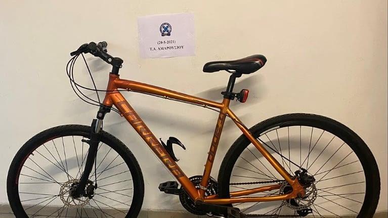 Συνελήφθη ο 42χρονος που έκλεβε ποδήλατα στην Κηφισιά, Βριλήσσια και Μαρούσι